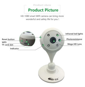 Babies and The Elderly Monitor IP Camera, Easy to Install Smart Home P2p IP Camera pictures & photos