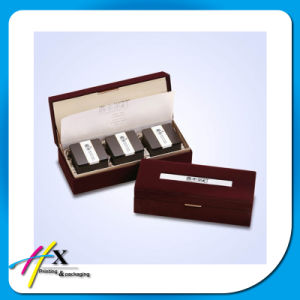 Clamshell Rigid Tea Custom Packaging Box Rigid Type pictures & photos