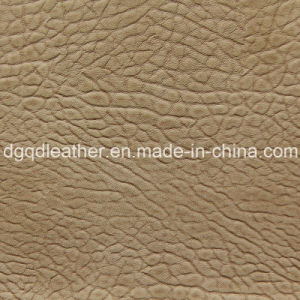 Sofa PU Leather Good Colour Fastness Qdl-50241 pictures & photos