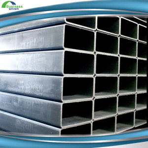 ERW Square Galvanized Tube Steel Square Galvanized Steel Pipe Price pictures & photos