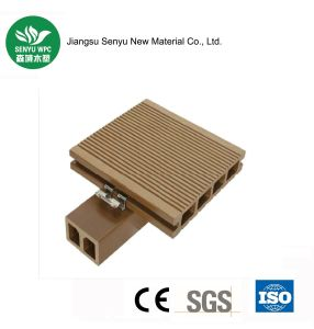 100% Recyclable WPC Outdoor Hollow Decking pictures & photos