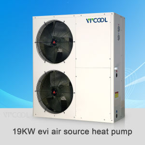 -25 Centigrade Evi Air to Water Heat Pump for House Heating, Evi Air Source Heat Pump Water Heater pictures & photos