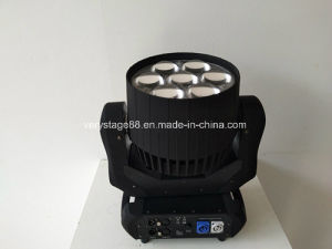 with High Quality China Manufacturer 7X40W LED Zoom Moving Head Light pictures & photos