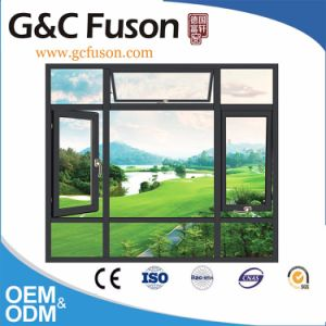 G&C Fuson Thermal Break Aluminium Casement Window with Mosquito Net pictures & photos