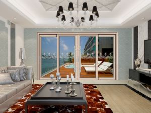 Made-in-China Interior Aluminum Alloy Sliding Door pictures & photos