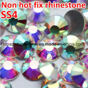 Ss4-Ss40 Clear Crystal Ab Non Hotfix Flatback Rhinestones Hat Rhinestones Crystal Svarovsky (FB-ss4-ss40 crystal ab) pictures & photos