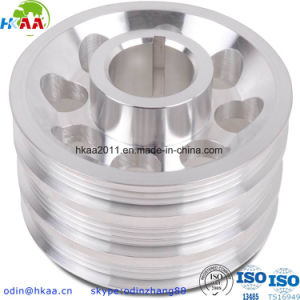 Lightweight Aluminium Alloy Engine Crank Pulley OEM Custom Made pictures & photos