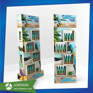 Sugar-Free Juice Promotion Cardboard Floor Display Stands pictures & photos