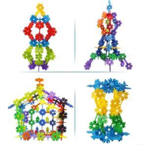 Children Leaves Snowflakes Building Blocks Toy pictures & photos