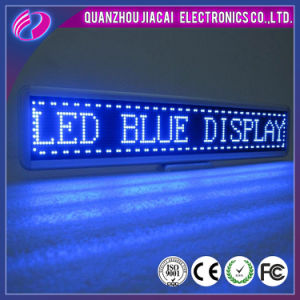 P10 Blue Color LED Moving Message Display pictures & photos