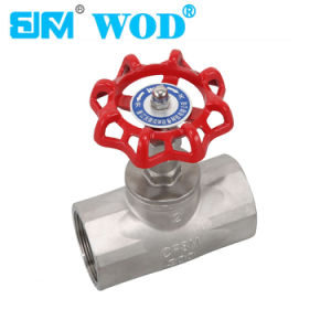 Stainless Steel Screwed Globe Valve pictures & photos