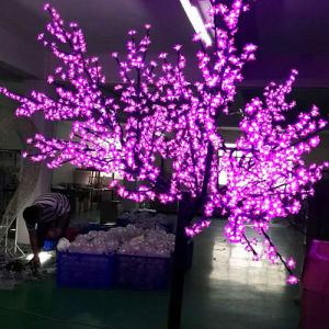 LED Christmas Pink Cherry Tree Lights Decoration Tree Lights pictures & photos
