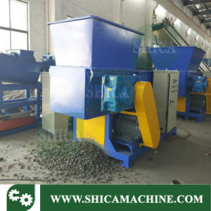 Two Axis Shredder for Big Container and Pallets pictures & photos