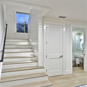 Interior Wooden Door with Clear Glass Design pictures & photos