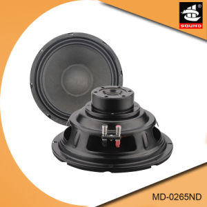 6.5 Inch Professional MID-Range Woofer Speaker MD-0265ND pictures & photos