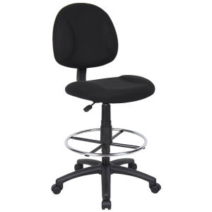 Black Fabric Office Chair with High Swivel Foot (SZ-OC93) pictures & photos