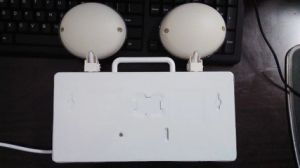 WiFi IP Camera with Backup Battery and Floodlight for Emergency Lamp pictures & photos