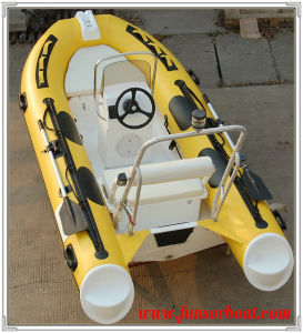 Funsor Rib Boat with Console and Steering System (RIB-350) pictures & photos