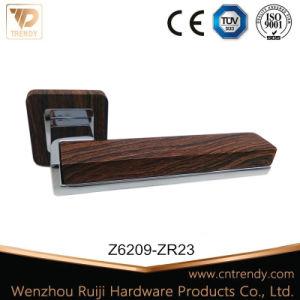 Furniture Hardware Matt Black Zinc Alloy Door Lever Handle (Z6336-ZR03) pictures & photos