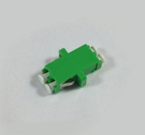 LC/APC Singlemode Duplex Adaptor with Flange pictures & photos