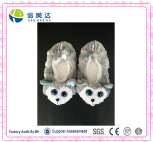 Big Eyes Plush Soft Animal Slippers pictures & photos