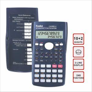 10+2 Digit 2-Line Display 240 Function Scientific Calculator pictures & photos