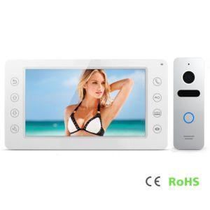 Home Security 7 Inches Interphone Intercom System Video Door Phone pictures & photos