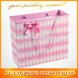 Flower Printing Folding Shopping Bag pictures & photos