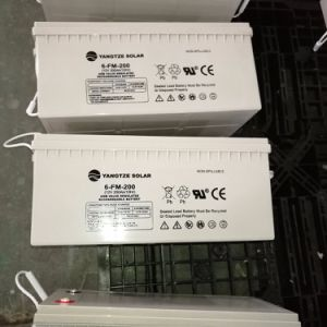 Deep Cycle 12V 250ah UPS Battery Backup pictures & photos
