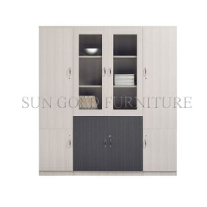 New Design Wooden Bookshelf Bookcase Filing Cabinet with Shelf (SZ-FC054) pictures & photos