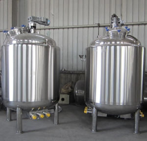 Yogurt Tank Yogurt Fermentation Tank Mixing Tank Stainless Steel Tank pictures & photos