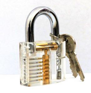 Eco-Friendly Transparent Lock pictures & photos
