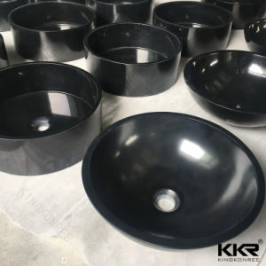 Bathroom Sanitary Ware Black Wash Basin Price in India pictures & photos