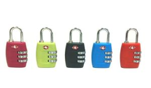 TSA Accepted 3-Dial Combination Lock/ ABS Lock housing pictures & photos