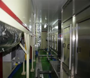 Painting Room in Car Spare Parts Complete Robotic Spray Coating Line pictures & photos