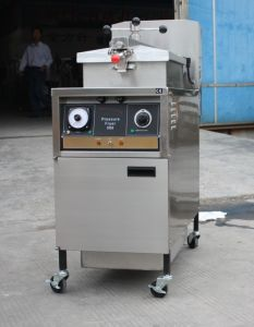 Gas Chicken Fryer (Manual Panel) pictures & photos