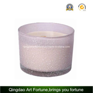 3 Wick Filled Wax Glass Tumbler Candle in China pictures & photos