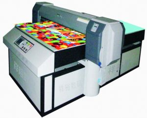 Flatbed Digital Leather Printing Machinery (1625C) pictures & photos