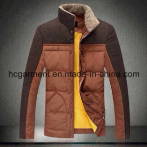 Fashion Outwear Outdoor Clothes Down Fleece Winter Jackets for Man pictures & photos