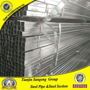 Pre Galvanized Square Hollow Section Steel Pipe pictures & photos