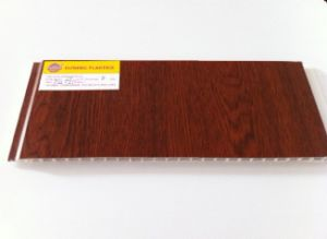 Wooden Color Lamonated PVC Panel (12580) pictures & photos