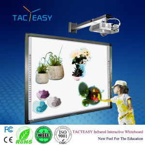 Ten Users Non-Magnetic Interactive Whiteboard