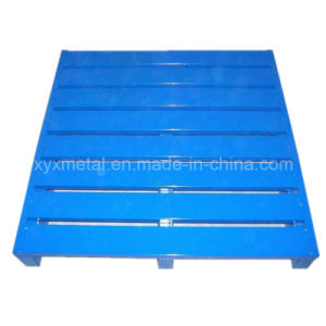 Long Service Time Recyclable Wooden Plastic Steel Pallet pictures & photos