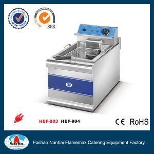 2-Tank 2-Basket Electric Chip Fryer (HEF-904) pictures & photos