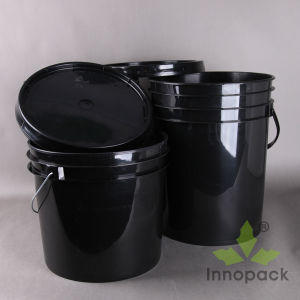 1-30L Round Square Plastic Bucket with Handle for Sale pictures & photos