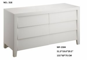 Super White Glass 6 Drawer Decor Furniture Cabinet pictures & photos