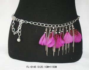 Feather Chain Belt Fl-0145