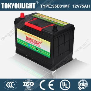 JIS Standard Mf Storage Battery with 95D31mf 12V95ah