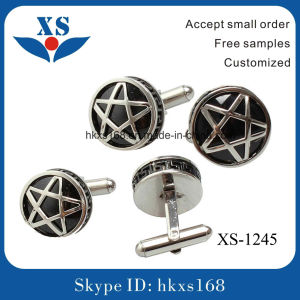 Hot Sale and High Quality Metal Steel Cufflink pictures & photos