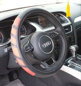 Bt 7151 The Production of Wholesale Leather Imitation Leather Steering Wheel Covers pictures & photos